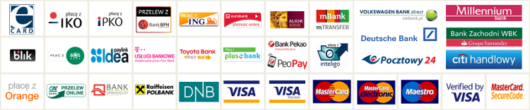 eCard methods of payment
