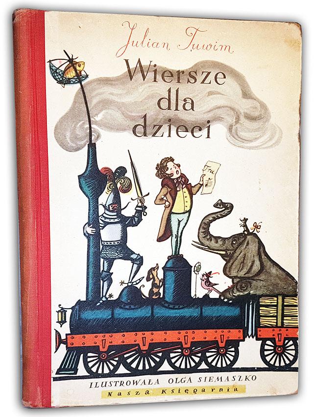 Tuwim Wiersze Dla Dzieci Wyd 1954 Ilustr Siemaszko