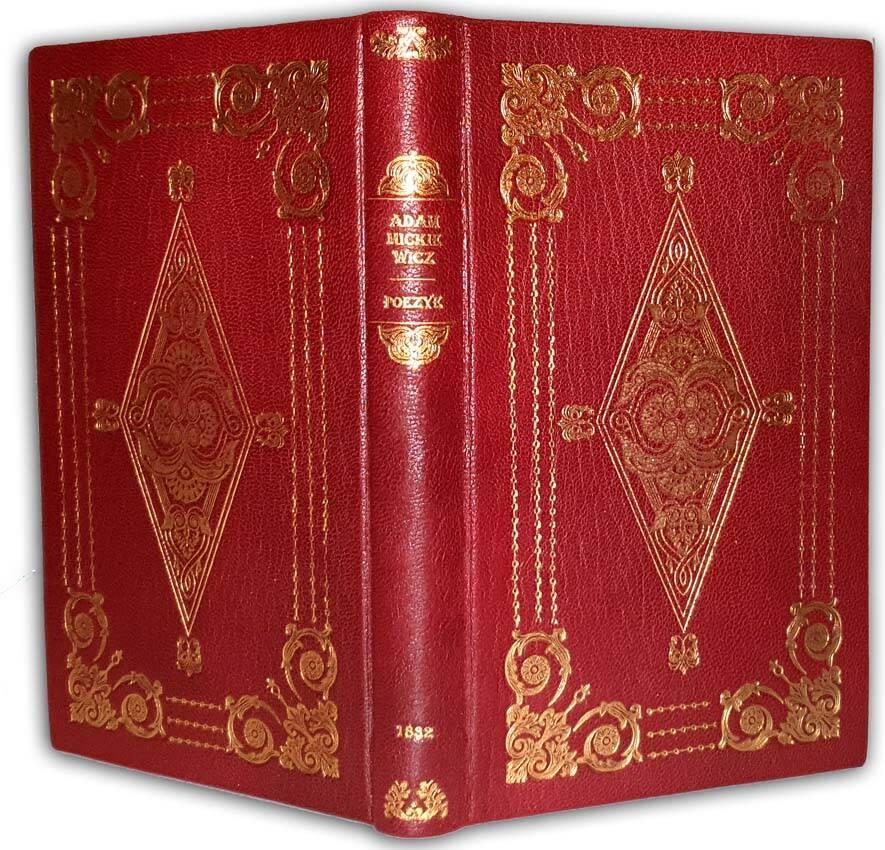 MICKIEWICZ- POEZYE ADAMA MICKIEWICZA. Pięć Tomów w iednym z portretem Autora. W Warszawie 1832, pierowdruki wieszczów, Adam Mickiwicz, rzadkie książki, cenne polskie książki przedwojenne