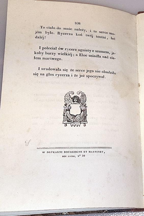 SŁOWACKI- ANHELLI Paryż 1838 pierwsze wydanie, pierwsze wydania wieszczów, pierwodruki , Adam Mickiewicz, Pan Tadeusz, Zygmunt Krasiński