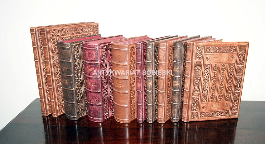 Tolkien Hobbit Lord of the Rings leather luxury exclusive binding