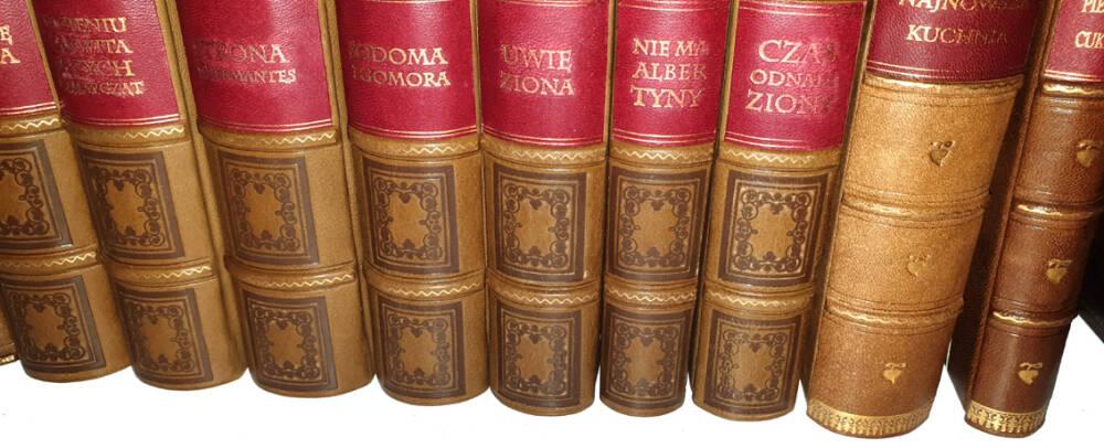 Książki skórkowe jako ekskluzywny prezent