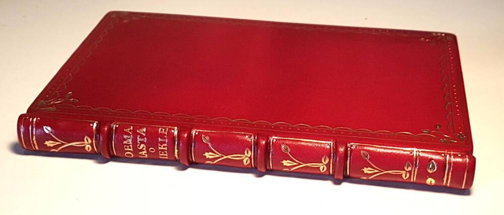 SŁOWACKI - POEMA PIASTA DANTYSZKA HERBU LELIWA O PIEKLE wyd.1 Paryż 1839