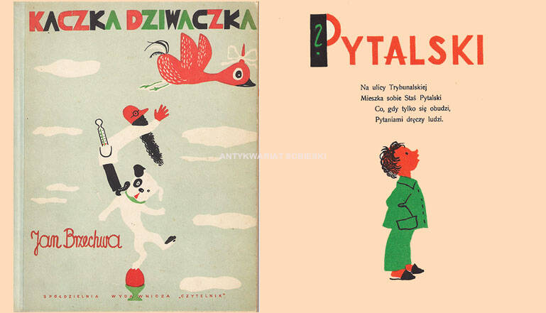 illustrated children's books from the years of PRL, children's and youth literature, Jan Marcin Szancer, Olga Siemaszko, Brzechwa, Tuwim, Andersen Fairy tales, beautiful books, rare editions