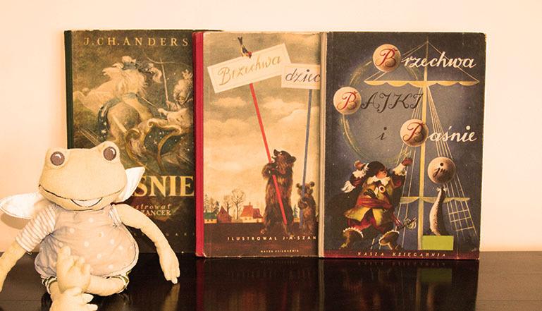 ilustrowane książki dla dzieci z lat PRL-u, literatura dziecięca i młodzieżowa, Jan Marcin Szancer, Olga Siemaszko, Brzechwa, Tuwim, Andersen Baśnie, piękne książki, rzadkie wydania