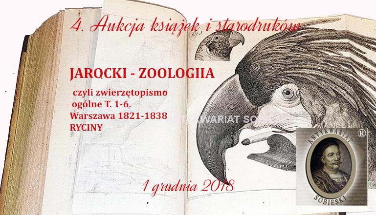 Antykwariat Sobieski - 4. Aukcja książek i starodruków