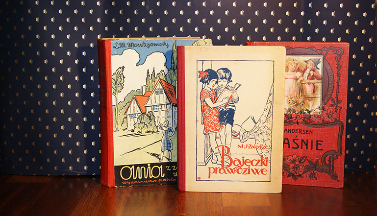 Przedwojenne ilustrowane książki dla dzieci, książka na prezent, przedwojenne bajki