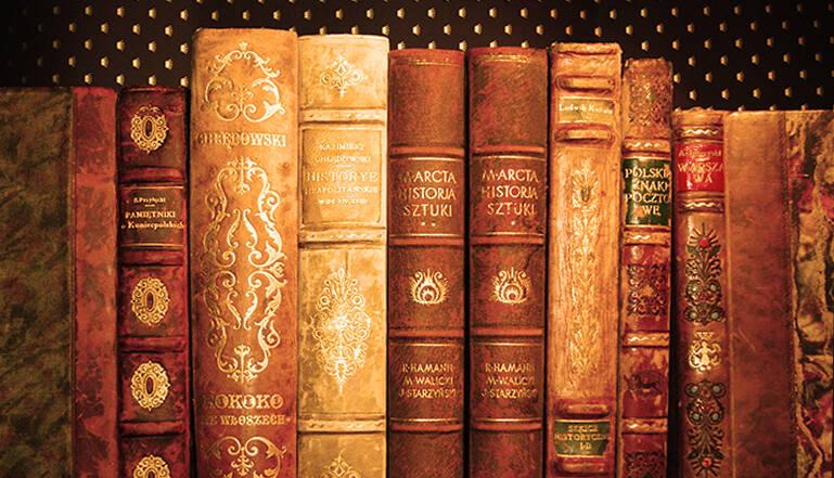 luksusowe książki oprawione w skórę, książka na prezent, półskórek