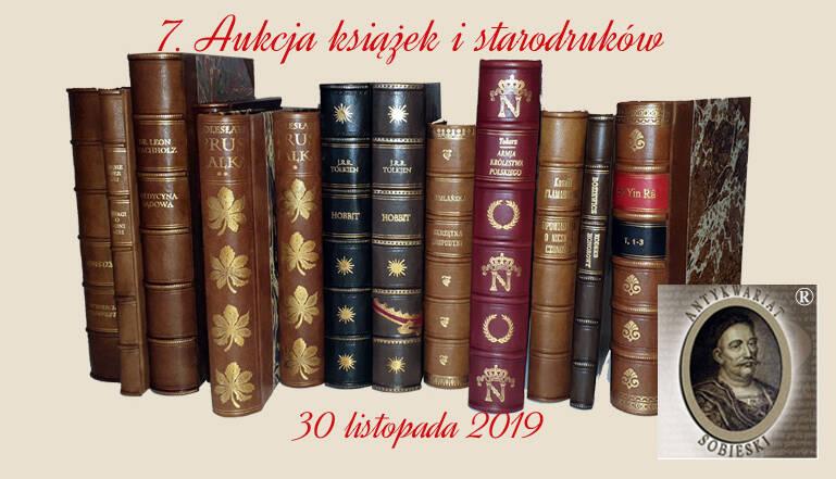 Aukcje Antykwariatu Sobieski na portalu OneBid.pl